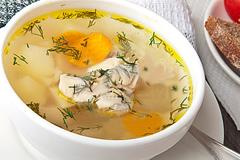 сколько калорий в супе с картошкой и яйцом